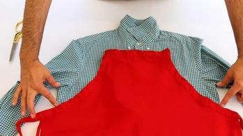 Полезная вещь из мужской рубашки