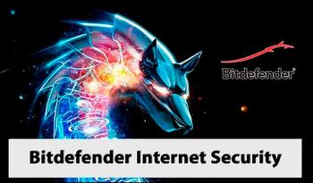 Антивирус Bitdefender Internet Security 2018 Rus
