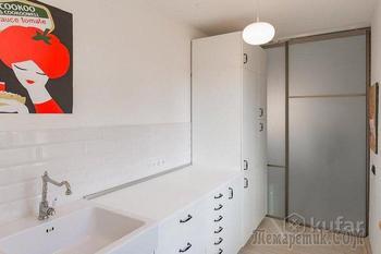Минчане сделали ремонт в очень узкой кухне и доказали, что площадь не так уж и важна