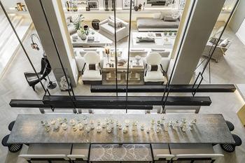 Большой дом известного дизайнера Kelly Hoppen в Лондоне