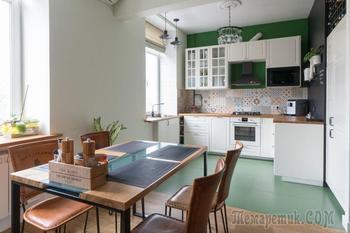 Стильная квартира в доме банковских работников на «Динамо»