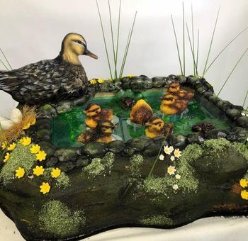 3D-торты от Молли Роббинс