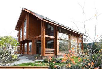 Современный деревянный дом в Подмосковье