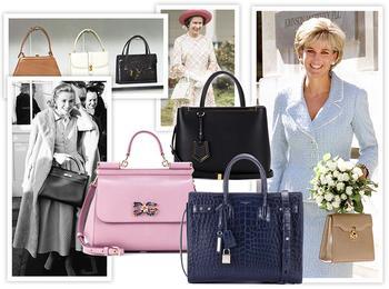 Держи за ручку: любимые сумки принцесс и королев снова в тренде