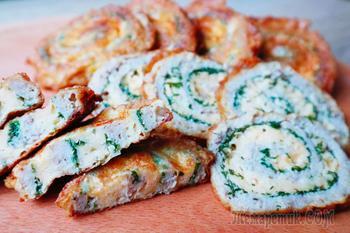 Вкуснейшая закуска из фарша и сыра на Новогодний стол!