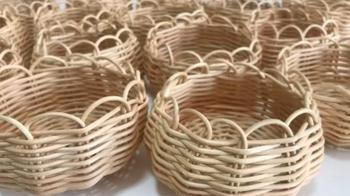 Мастерим плетёные корзинки в эко стиле
