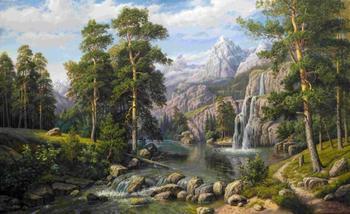 Водопады в живописи. Часть 2.