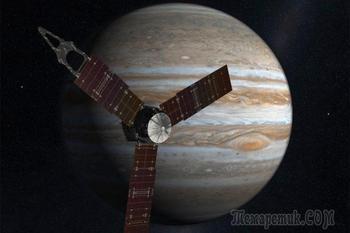 10 интересных фактов о миссии «Юноны» к Юпитеру