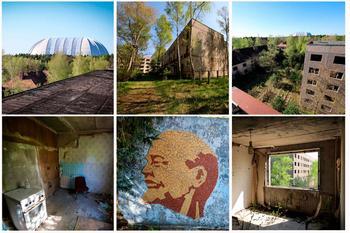 Немецкая Припять: город Бранд в фотографиях