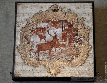 Декорируем чайную коробку «В старом шале»
