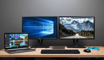 Каким способом настроить второй монитор в Windows 10