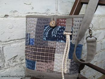 Мастер-класс: шьем сумочку в стиле «боро»