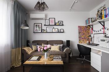 Уютная квартира в спокойных тонах