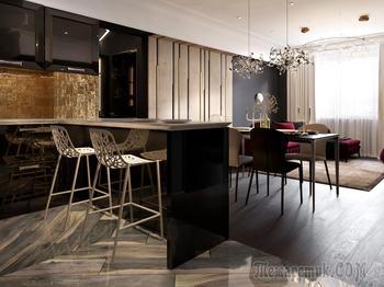 """Квартира холостяка от дизайн студии """"Логово"""""""