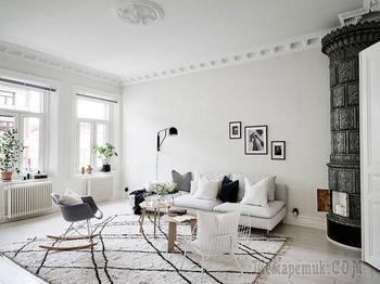 Скандинавская квартира, в которой живется легко