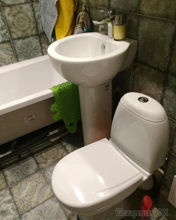 """Переделка """"самой маленькой ванной в мире"""""""