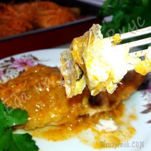 Вкусная Рыба в духовке – рецепт домашний! Такую рыбу, вы еще не ели точно!