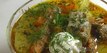 Мясо по-азербайджански. Народный рецепт