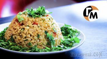 Вкуснятина на всю семью - без грязной посуды: Булгур с овощами