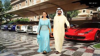 Жизнь шейхов. Как живут в Дубае? Машины, золото, зарплаты и миллиардеры