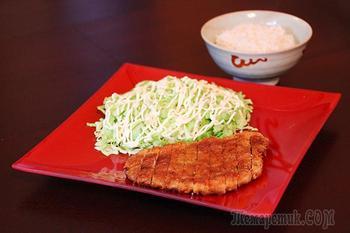 Тонкацу - шницель по-японски