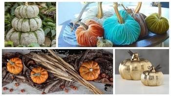 Осенний декор для дома из ничего