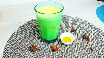 Латте куркума или золотое молоко