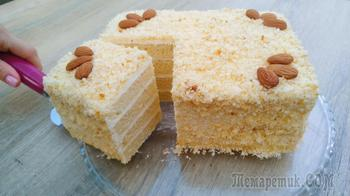 Стаканчиковый торт за 30 минут без весов и хлопот!