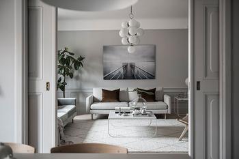 Утонченная Скандинавия: современная квартира в Стокгольме