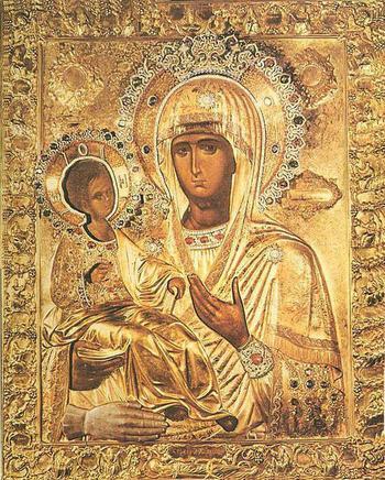 Когда читается молитва Богородице Троеручице