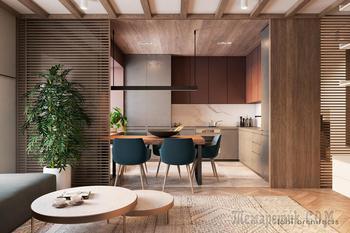 Яркие, современные апартаменты для молодой семьи