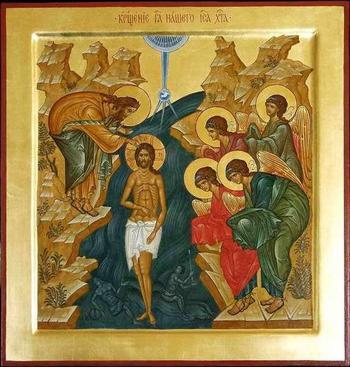 Икона «Крещение Господне»: значение иконы (фото)