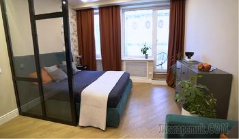 Как сделать из узкой вытянутой квартиры площадью 33 кв. м. удобное жилье