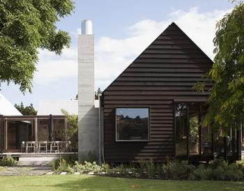Прекрасный дом отдыха у реки в Новой Зеландии