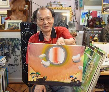Корейская живопись. Син Бомсын - Shin Bum-Seung (신범승), род. 1942, Республика Корея