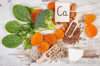 Кальций в продуктах питания растительного происхождения