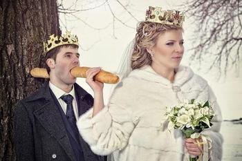 30 безумных фотографий русских свадеб