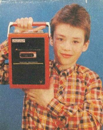 Советские магнитофоны для детей