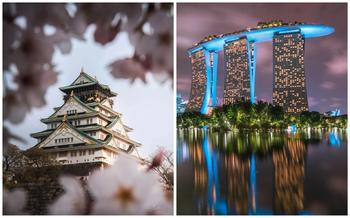 Потрясающая азиатская архитектура: от средневековых японских замков до небоскребов