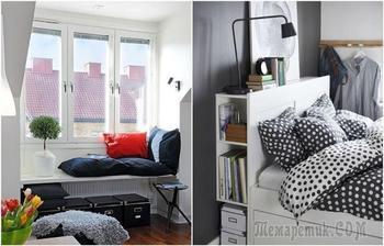Как оформить спальню мечты в маленькой комнате: 10 идей из разных стран