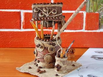 Декоративная кофейная фигурка