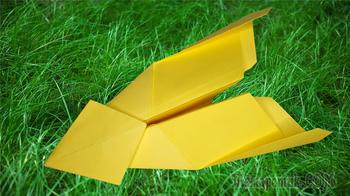 Как сделать самолётик из бумаги который далеко летает и легко делается