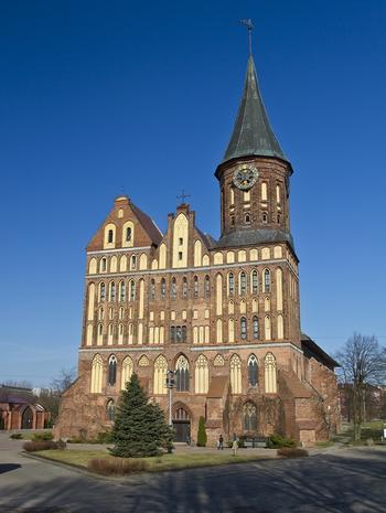 Кафедральный собор в Калининграде. Кёнигсберг в Калининграде часть 3