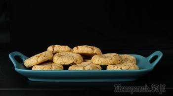 Очень вкусное печенье с грецким орехом