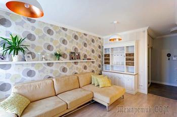Дизайн квартиры мансардного типа 130 кв. м.