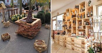 Великолепные идеи использования деревянных поддонов