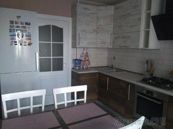 Моя кухня: бюджетный ремонт для молодой семьи