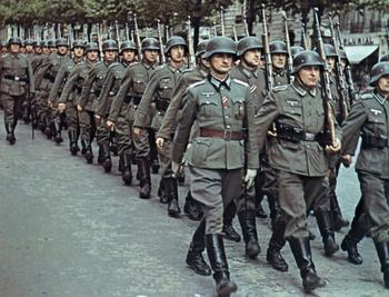 Кака запад описывал немецкие победы на советской территории