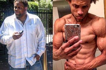 Американец за полгода смог снизить свой вес со 170 кг до 94 кг, питаясь фаст-фудом