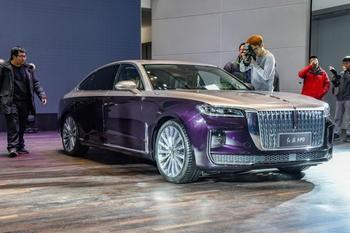 Hongqi H9 2020 — китайский конкурент для Audi, BMW и Mercedes